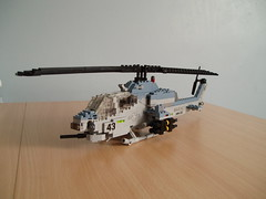 AH-1W SuperCobra (Mad physicist) Tags: usmc model lego helicopter marines ah1 ah1w supercobra