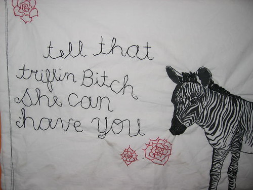 NJG trifling bitch zebra