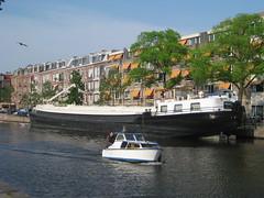 Ship on the Schinkel (David Feltkamp) Tags: public amsterdam boat ship creative commons domain schinkel