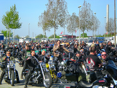 Harley Davidson Superrally 2008 (pantherinia_hd Anna A.) Tags: wild bike denmark ride motorcycles harleydavidson hd custom fredericia bikers riders vpower superrally