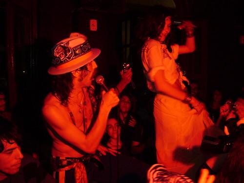 Eugene Hutz ( Gogol Bordello ) - Festa Ciganomania - 21/05/08