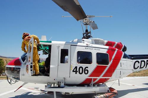 CDF Helitack UH-1H (Bear Valley)