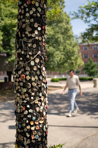 Gum Sticking Destinations, A Virtual Guide lists art