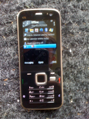 Nokia N78 After Initial Startup