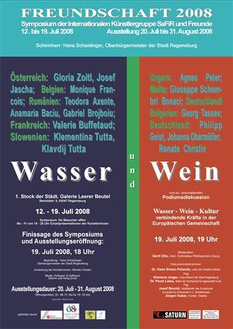 Regensburg internationales Symposium Wasser und Wein
