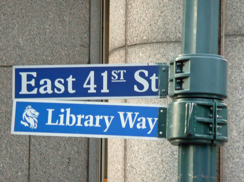 Library Way -- East 41st Street