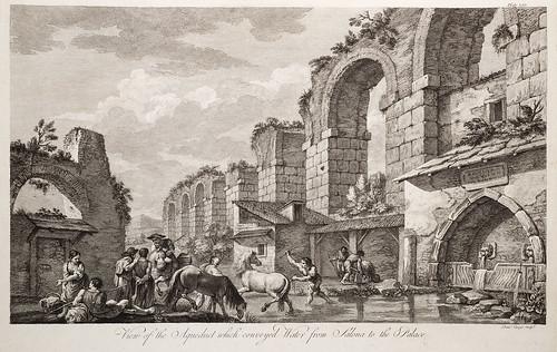 12-Vista del acueducto que llevaba el agua de Salona al palacio