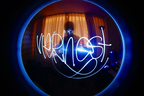 Light Painting Graffiti Signature