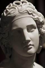 Medusa, Harriet Goodhue Hosmer, 1854 (Tiz_herself) Tags: sculpture white art michigan detroit statues dia museums medusa snakes mythology myths detroitmichigan detroitinstituteofarts harrietgoodhuehosmer