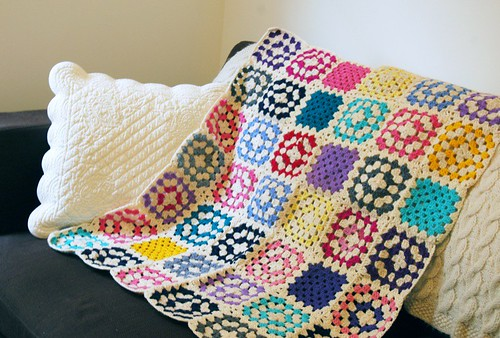 small crochet blanket