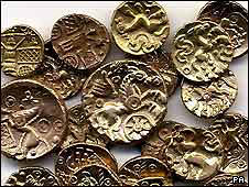 Celtic Gold Coin Hoard