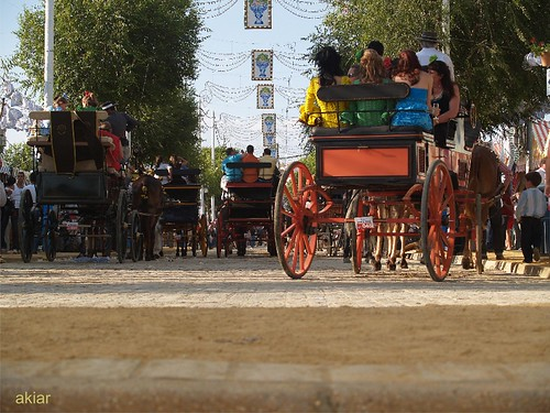 Feria. Entre el suelo y el cielo. Alcalá de Guadaíra.