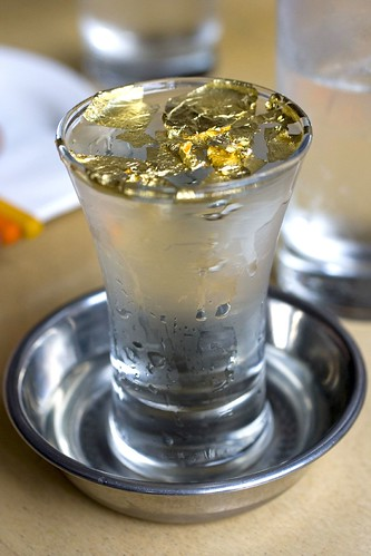 Helen's Sake with gold
