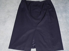 Navy Blue lined straight skirt. Neat and Trim Brand. Size 22 but a smallish 22. (bixter76) Tags: blue 22 10 navy skirt size but neat straight trim brand lined smallish