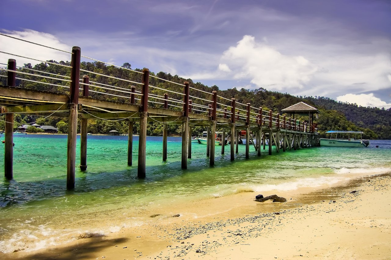 Sapi Island Dock