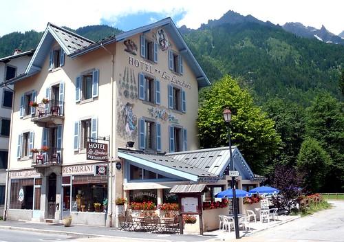 Les Lanchers hotel, Les Praz