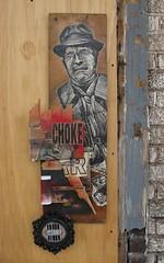 choked on greed (abandonview) Tags: streetart choke greed abdn disasterstrikes iminentdisaster abandonview chokedongreed