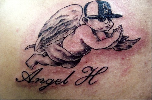 Sweet and Sexy Baby Angel Tattoos · Sweet