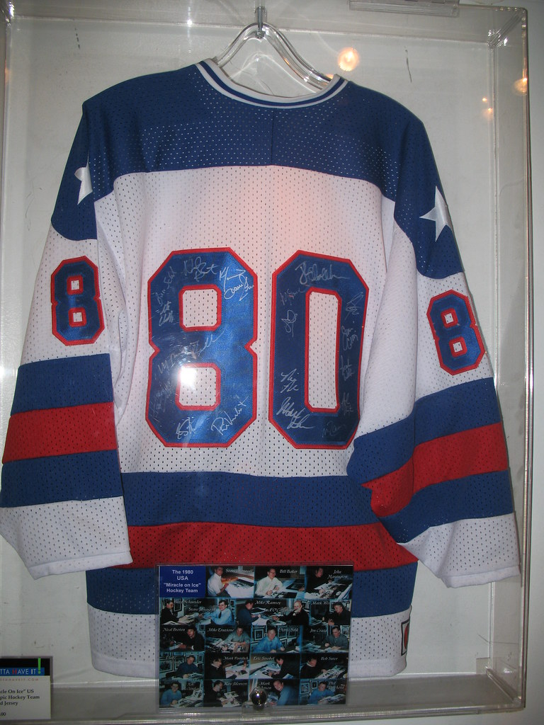 Miracle on Ice - Signed Jersey