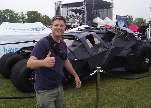 Me and the Batmobile