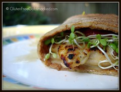 Honey, Mustard and Wasabi Grilled Chicken Sandwich