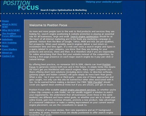 Position Focus
