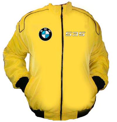 yellow racing jacket bmw 535