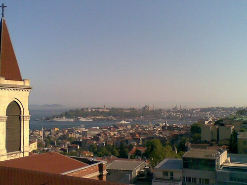 View from 360 back towards old Istanbul