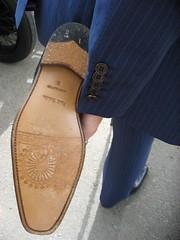 sole (squeezemonkey) Tags: wedding shoe groom londoneye suit sole paulsmith