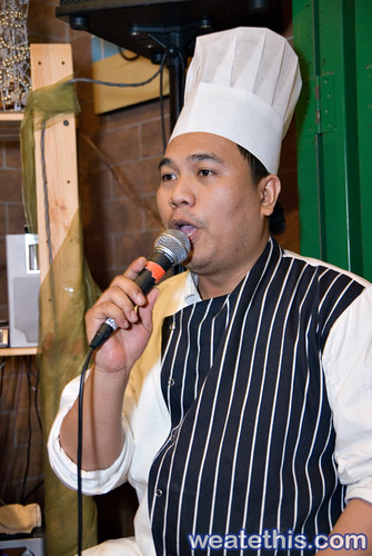 Singing Chef - La Gourmet House - The Curve