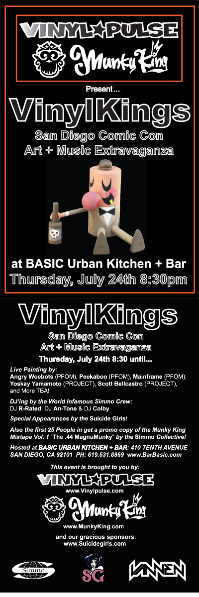 VinylKings Flyer front