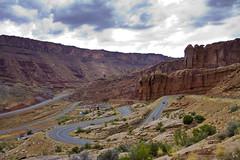 Twisties (Michael Zahra) Tags: road street usa racetrack america drive utah canyonlands moab mg3744ps001