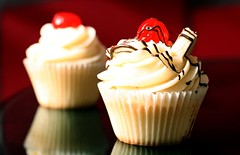 for you and I .. (7oO7oO) Tags: red cherry dessert cupcakes cozy banana cupcake vanilla kuwait 2008 pinacolada cuppies cuppy 7070 7oo7oo