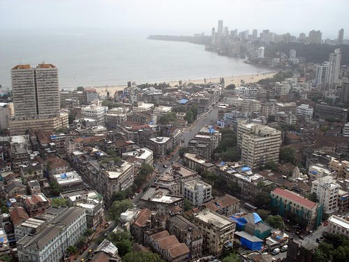 panchratna buidling, and chaupati view ,mumbai town view, Mumbai, INdia
