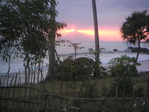 Sonnenuntergang Coco Beach