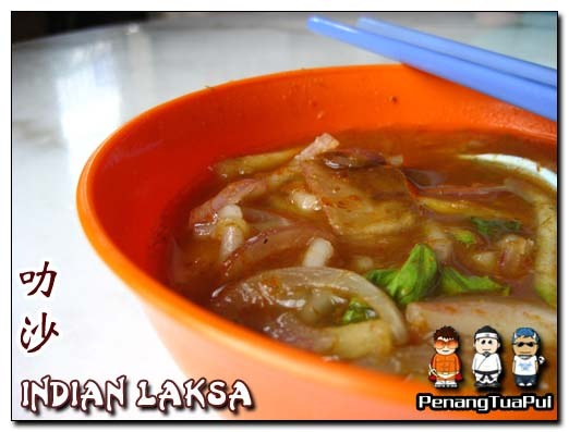 Penang food, Laksa, Bawasah Road, Giant, Burmah Road