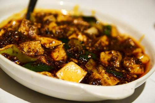 ma pa tofu with chili minced pork