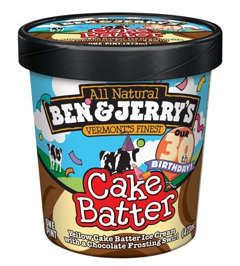 With Ben Jerrys Cake Batter You No Longer Have To Steal From Your Mother Even Better The Comes Chocolate Frosting Swirl