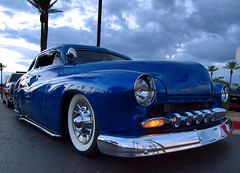 Merky Blue (Swanee 3) Tags: blue mercury lowrider customcar choptop fatcar