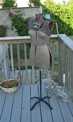 dressmaker dummy 004 (dncng_leaf) Tags: freecycle dressmaker