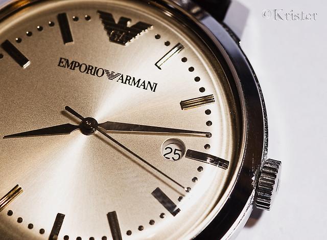 macro canon watch sigma 105 armani 30d emporio