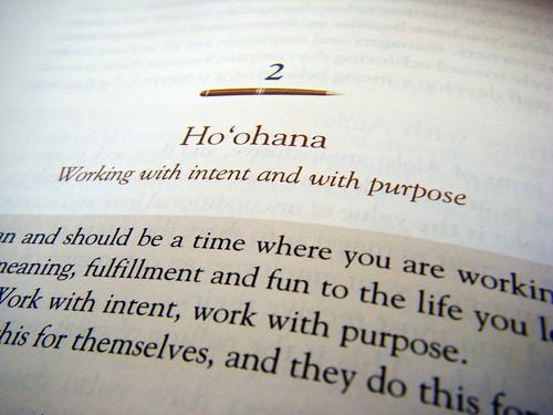 Ho'ohana in Managing with Aloha