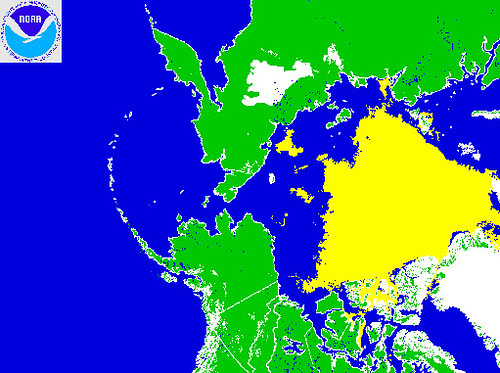 Arctic sea ice 9/5/08