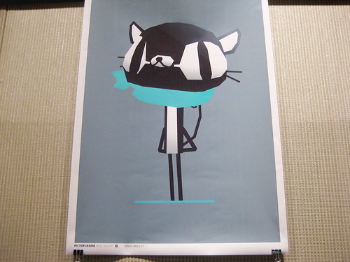 David OReilly Pictoplasma Poster
