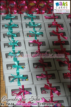 Cupcakes for Icha - pack - Maki Cakes