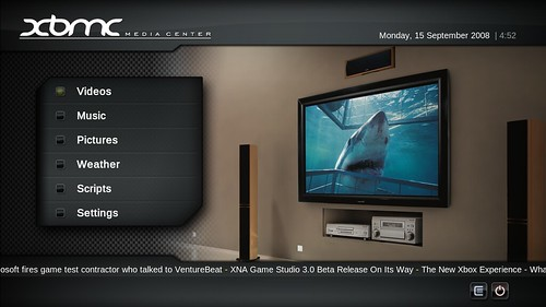 PM3:HD by XBMC Media Center.