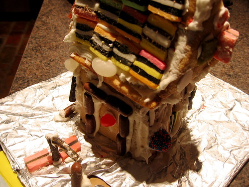 Son #3's gingerbread house