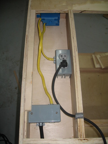 Router Cabinet Electrical