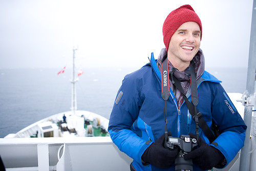 Graham Hill joins the boat in Ilulissat, along with beatboxer Shlomo and Jude Kelly