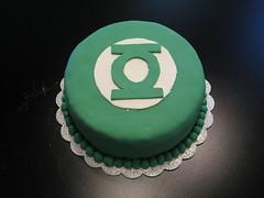 Green Lantern (Meghan G) Tags: cake lemon comic superhero greenlantern fondant